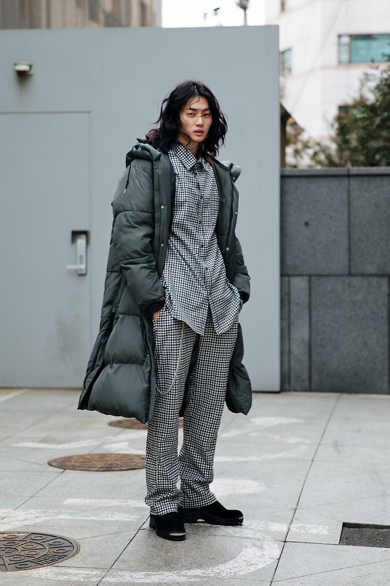 Kim Sungchan, Street style men winter 2017-2018 inseoul