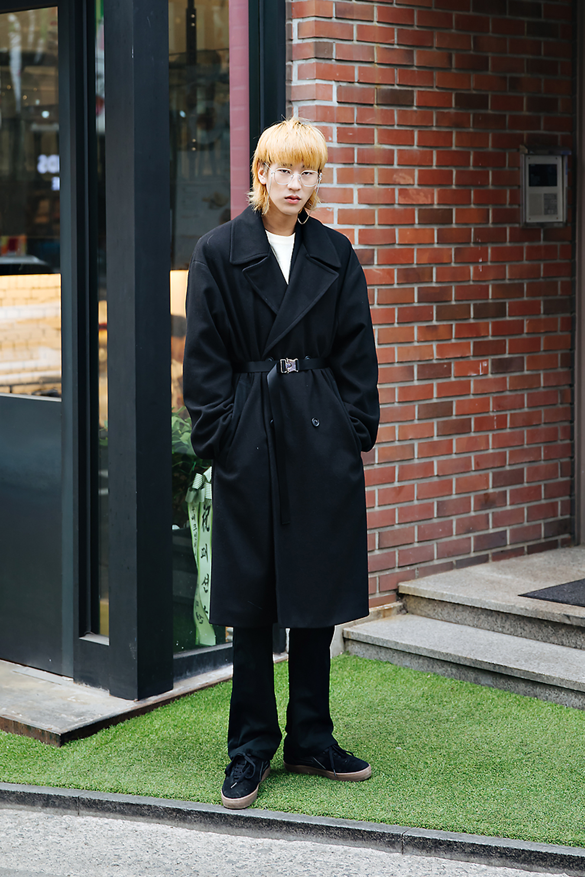 Lee Chunghyub, Street style men winter 2017-2018 inseoul