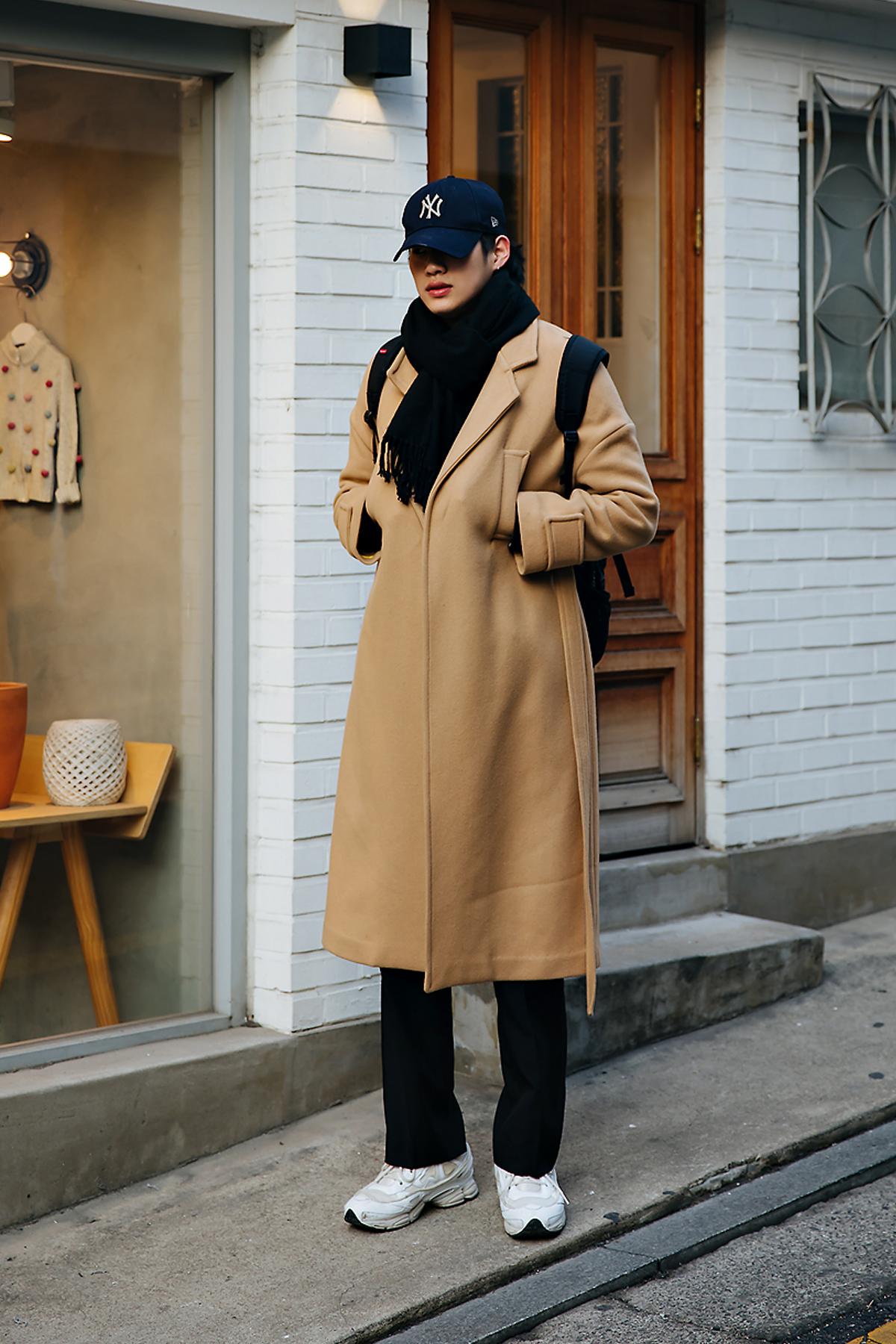 Lee Sanggun, Street style men winter 2017-2018 inseoul
