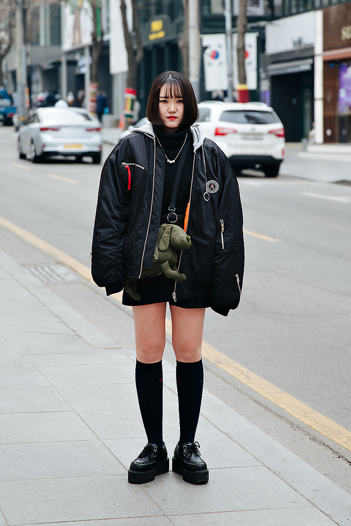 Otaki chihiro, Street style women winter 2017-2018 inseoul