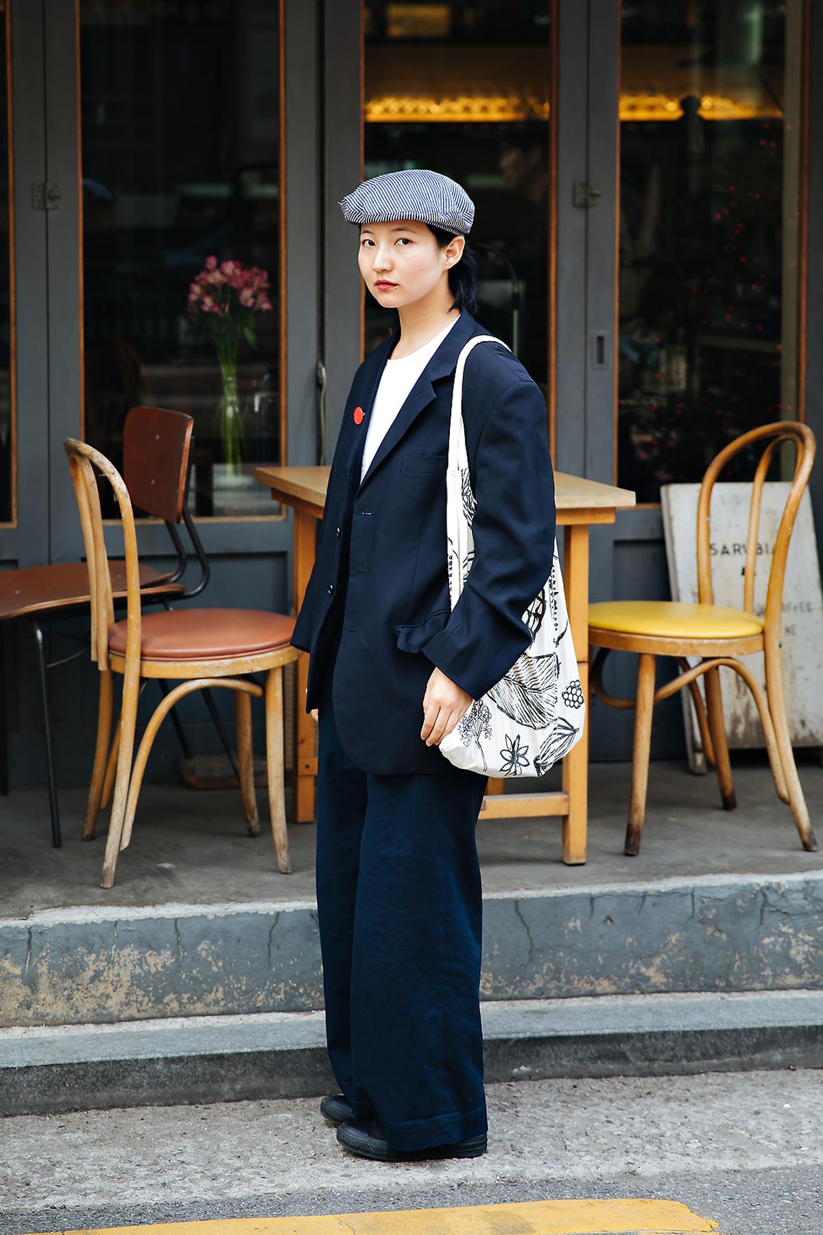 Alima, Street style women spring 2018 in seoul