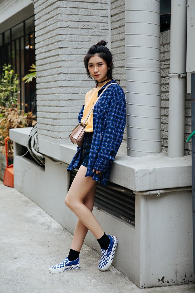 Ashley Yan, Street style women spring 2018 in seoul