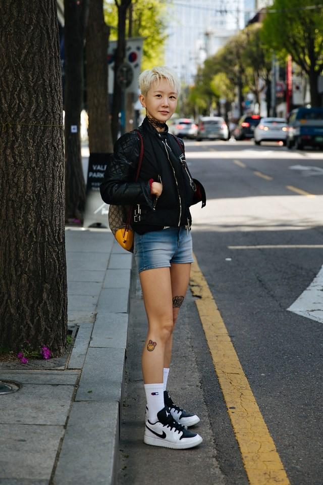 Cho Eunhee, Street style women spring 2018 in seoul