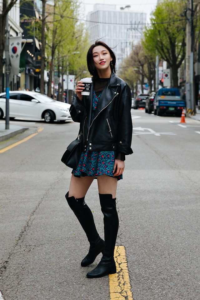 Cho Kwanyoung, Street style women spring 2018 in seoul