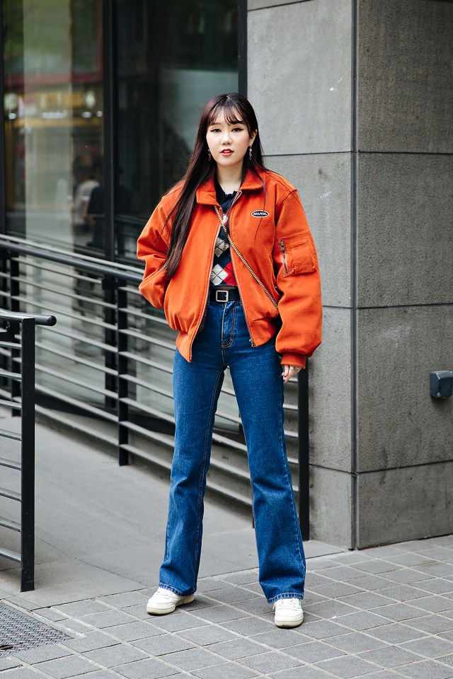 Choi Hanbyeol, Street style women spring 2018 in seoul
