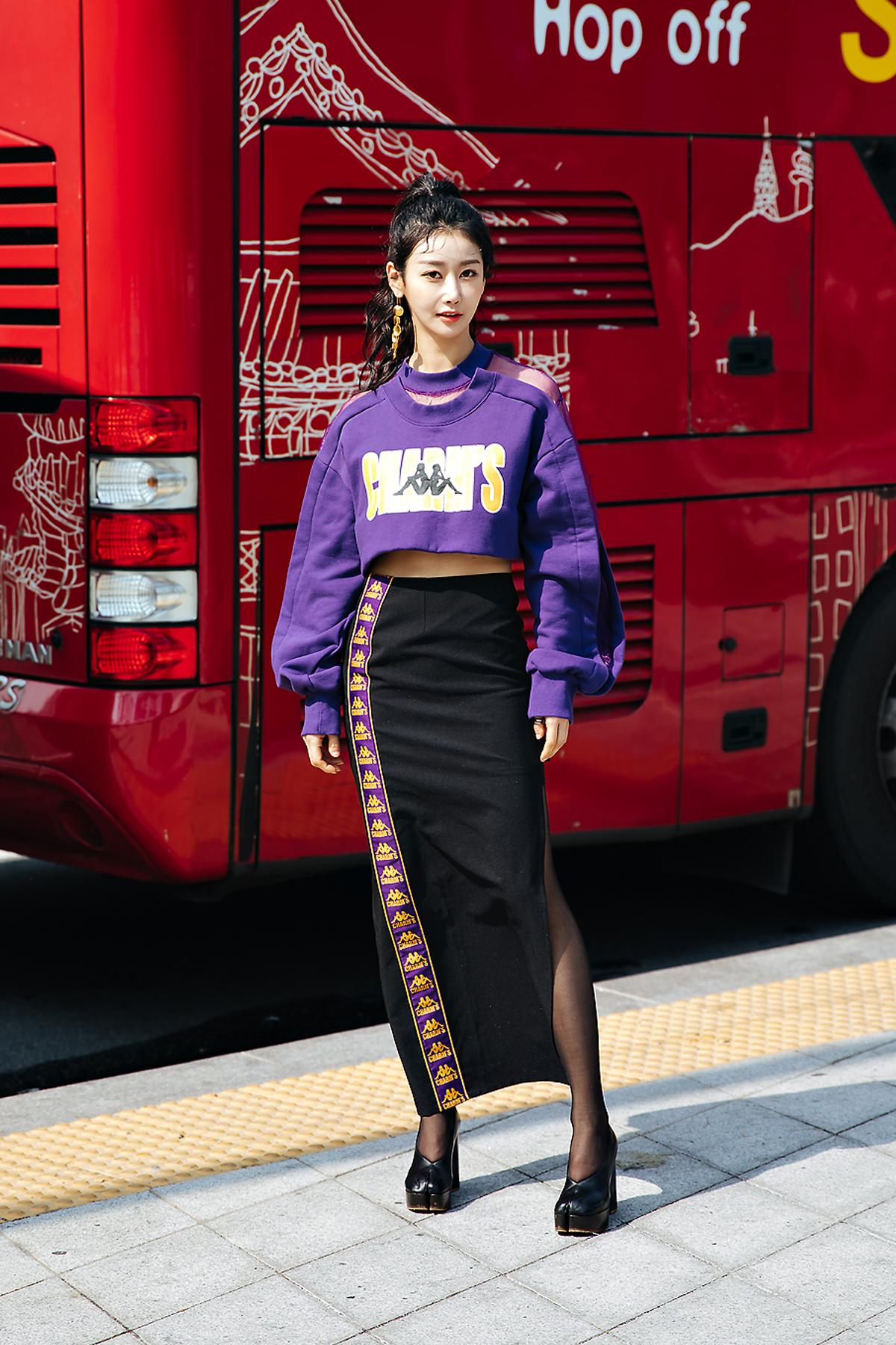 Geum Mi, SEOUL FASHION WEEK STREETWEAR WOMENS 2018FW