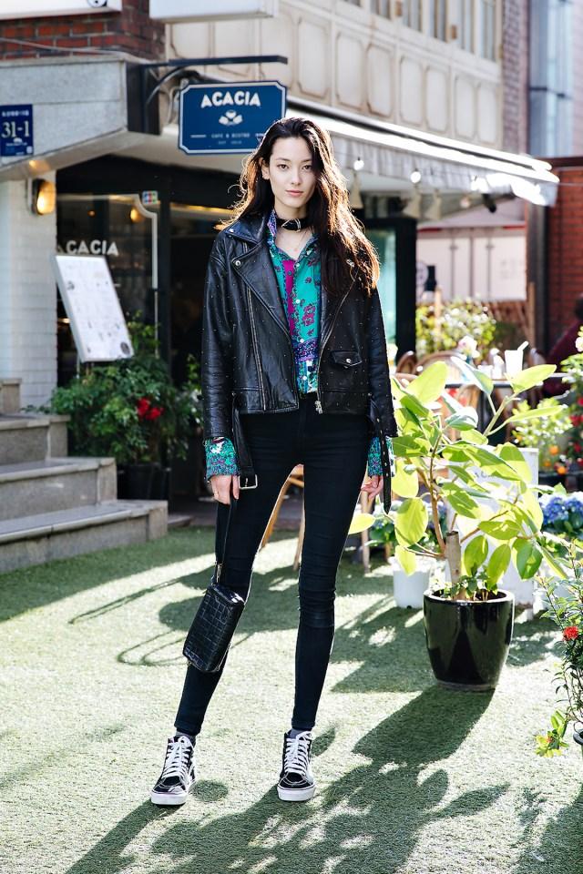 Han Eunbi, Street style women spring 2018 in seoul