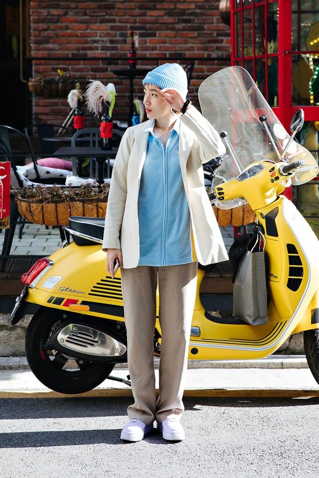 Hwang Sunhwa, Street style women spring 2018 in seoul