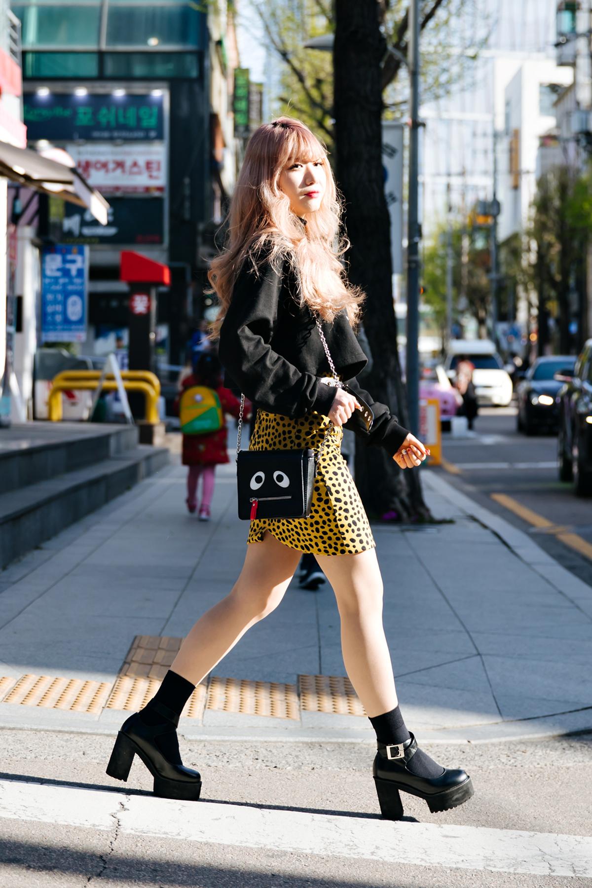 Kim Haneul, Street style women spring 2018 in seoul