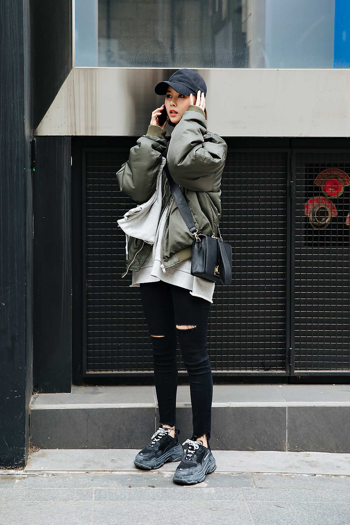 Kim Seohyun, Street style women spring 2018 in seoul