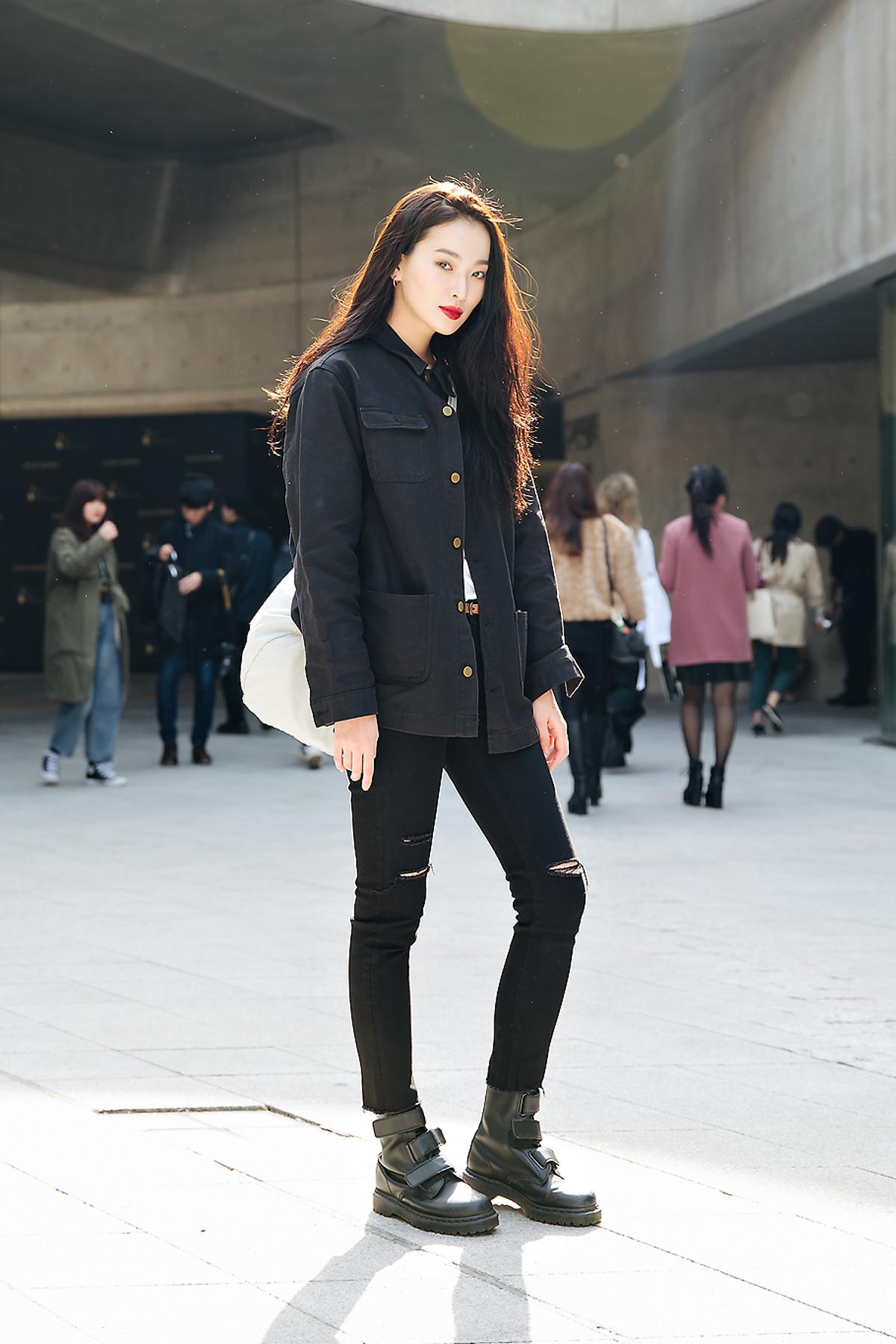 Kwon Saem, SEOUL FASHION WEEK STREETWEAR WOMENS 2018FW