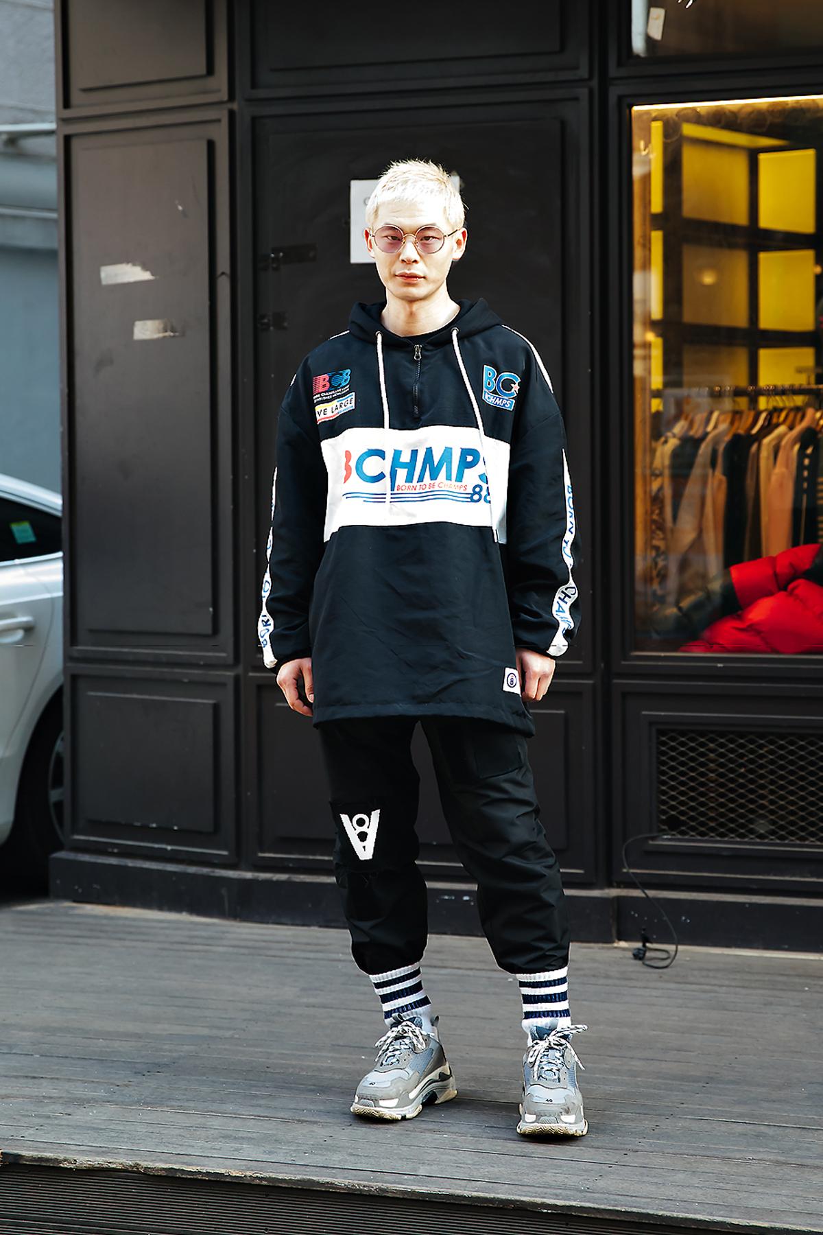 Lee Jongsun, Street style men winter 2017-2018 inseoul