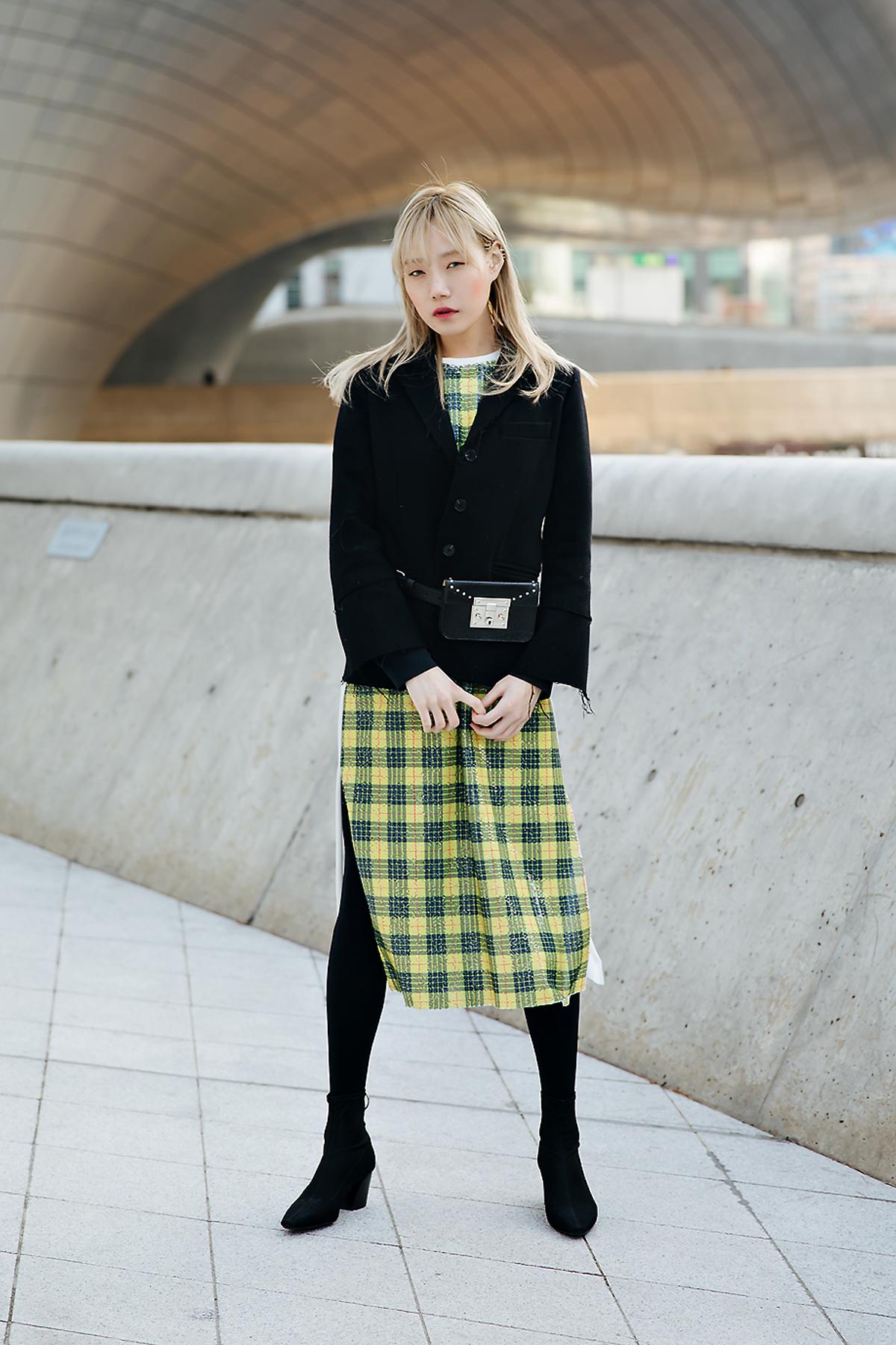 Lee Juyeon, SEOUL FASHION WEEK STREETWEAR WOMENS 2018FW