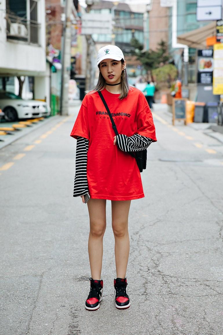 Liu Yuqi, Street style women spring 2018 in seoul