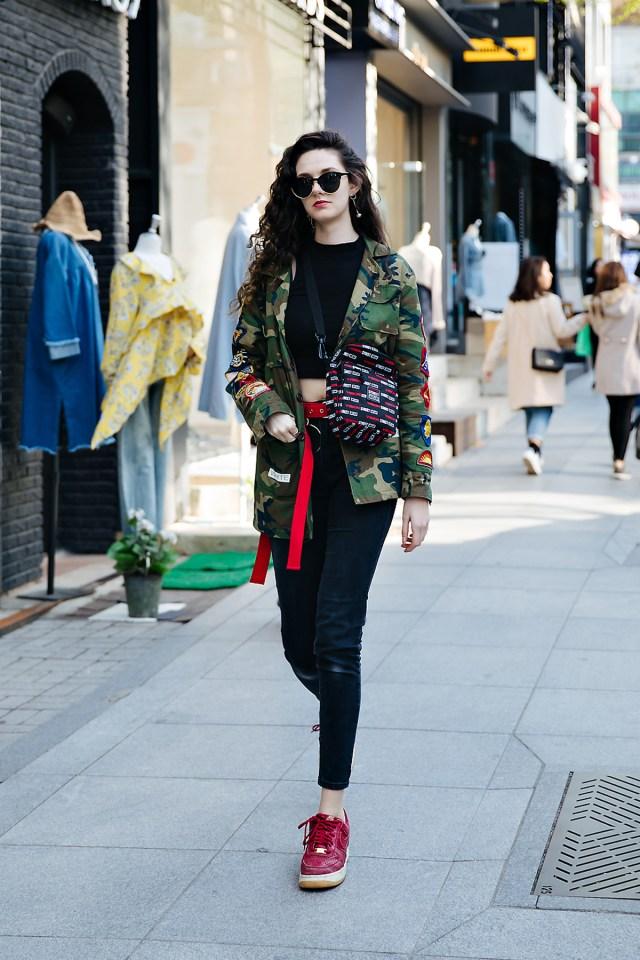 Milena MilenaTiger, Street style women spring 2018 in seoul