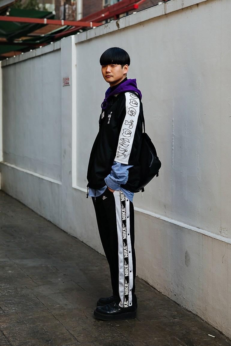 Park Namkyu, Street style men winter 2017-2018 inseoul