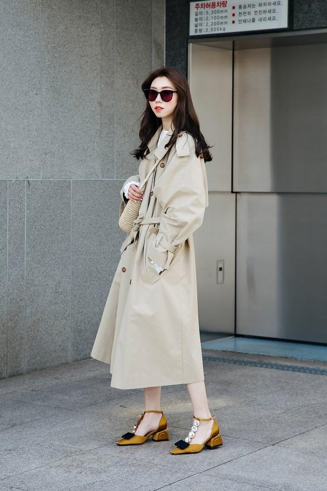Shimingjun, Street style women spring 2018 in seoul