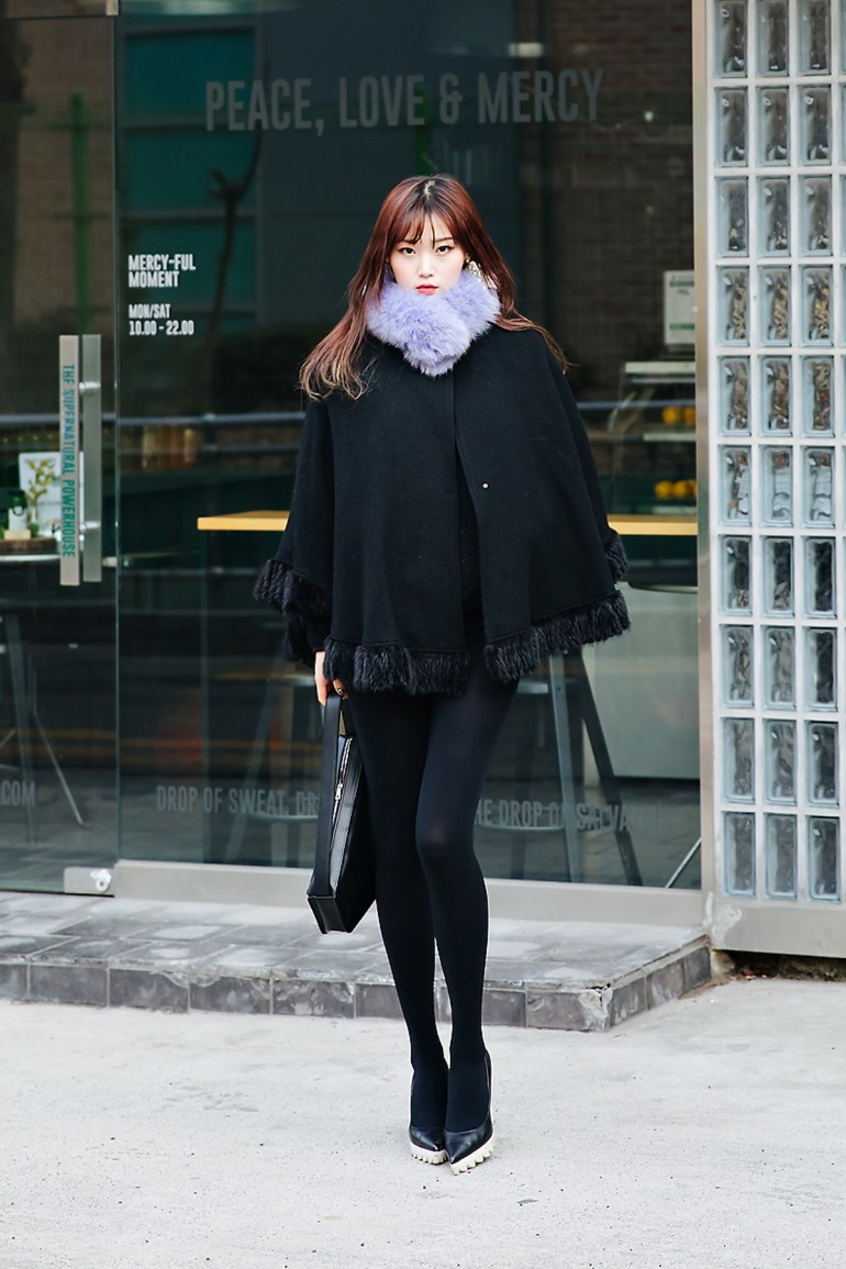 Shin Nahyung, Street style women winter 2017-2018 inseoul