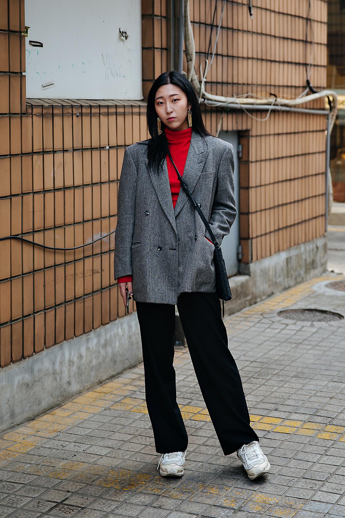 Yoo Sieun, Street style women winter 2017-2018 inseoul