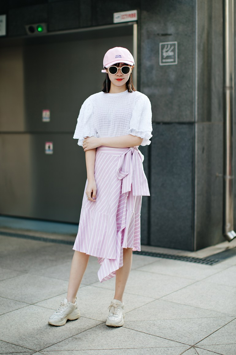 Chentingting, Street style women spring 2018 in seoul