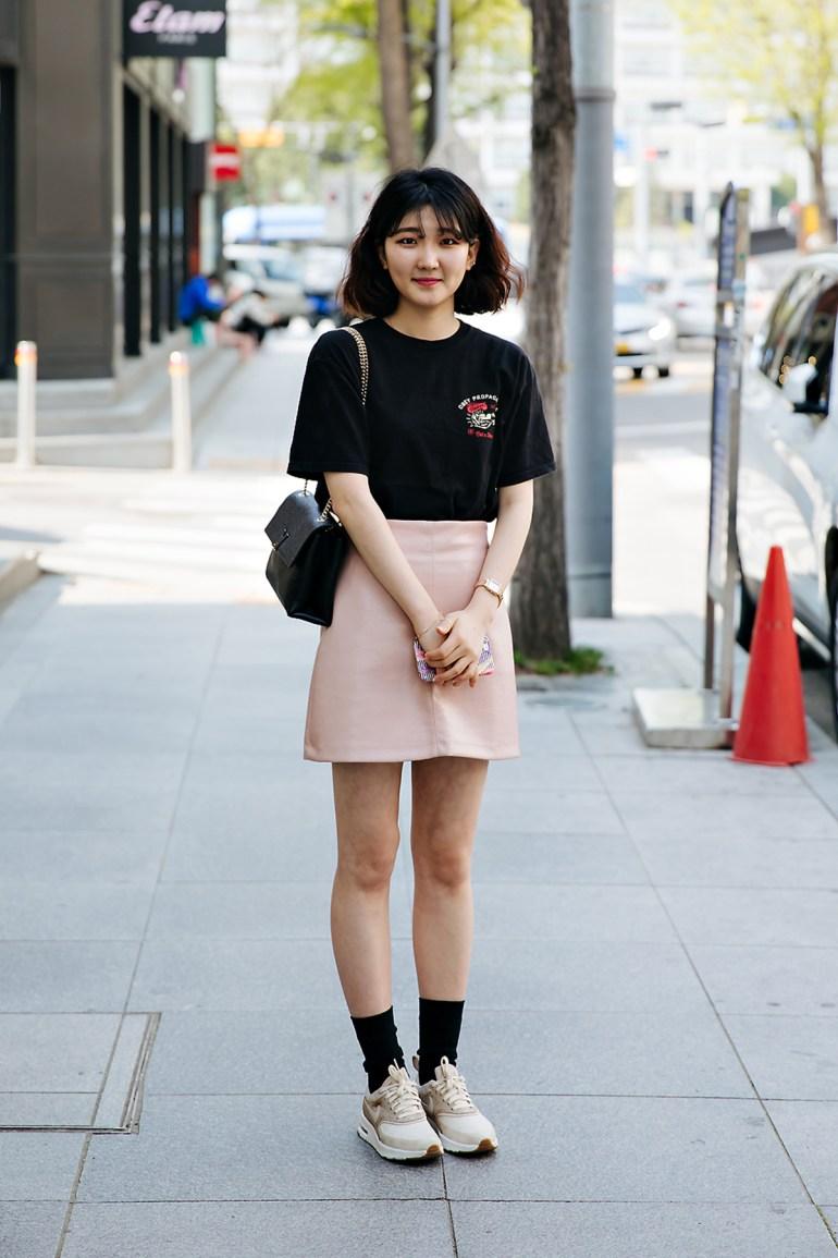 Jeon Sohyun, Street style women spring 2018 in seoul