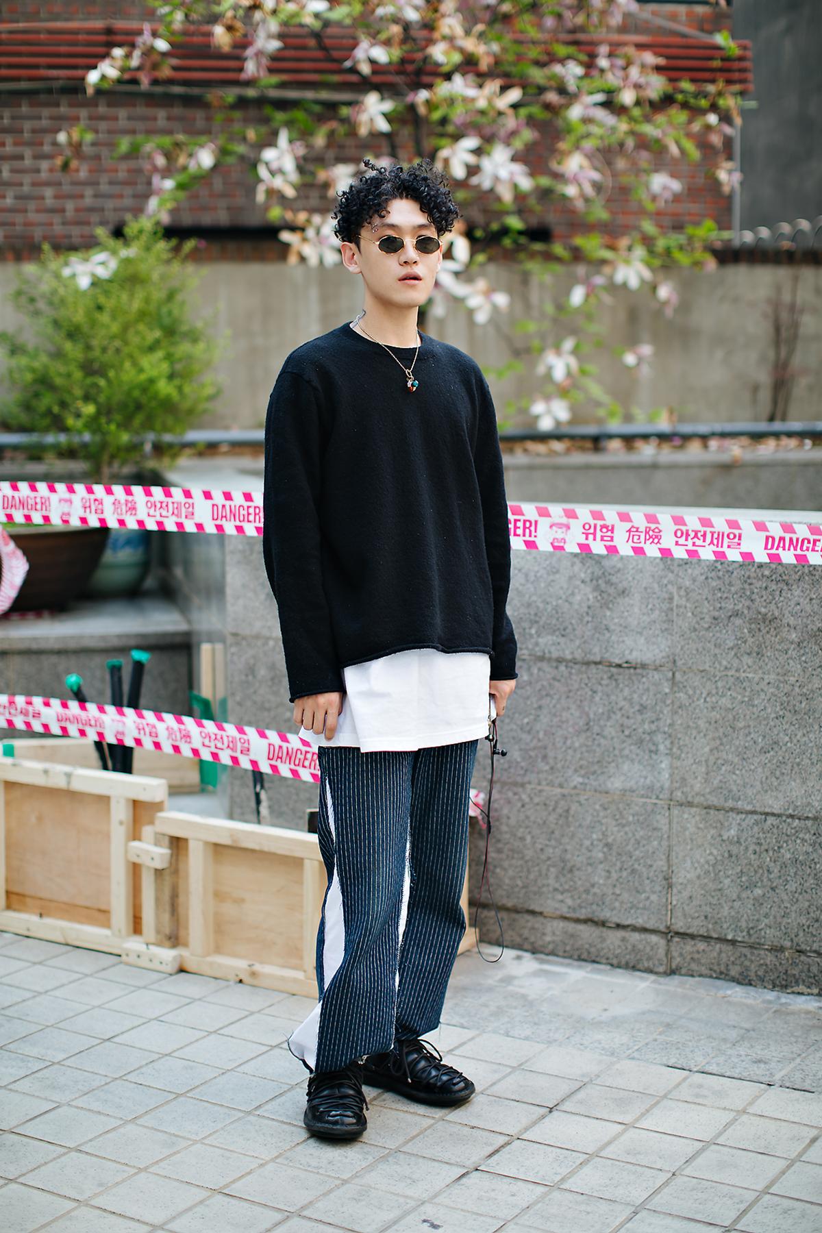 Kim Changdae, Street style men spring 2018 inseoul