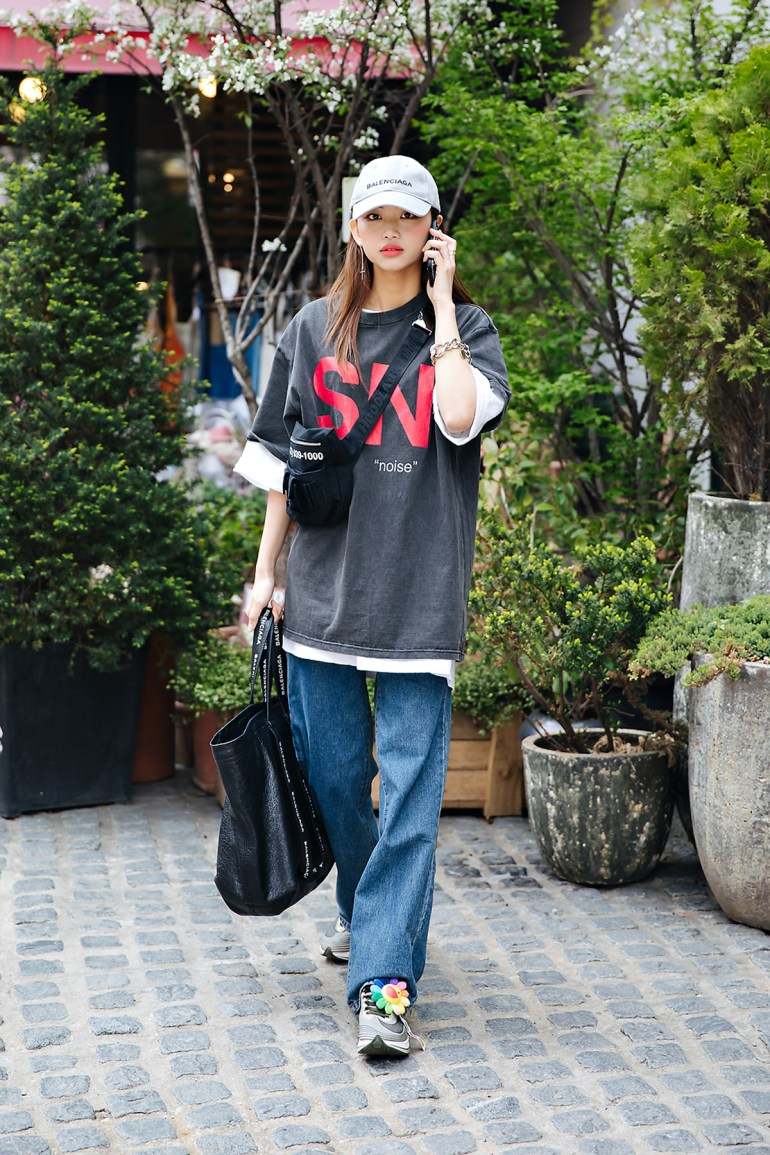 Kim Jungeun, Street style women spring 2018 in seoul