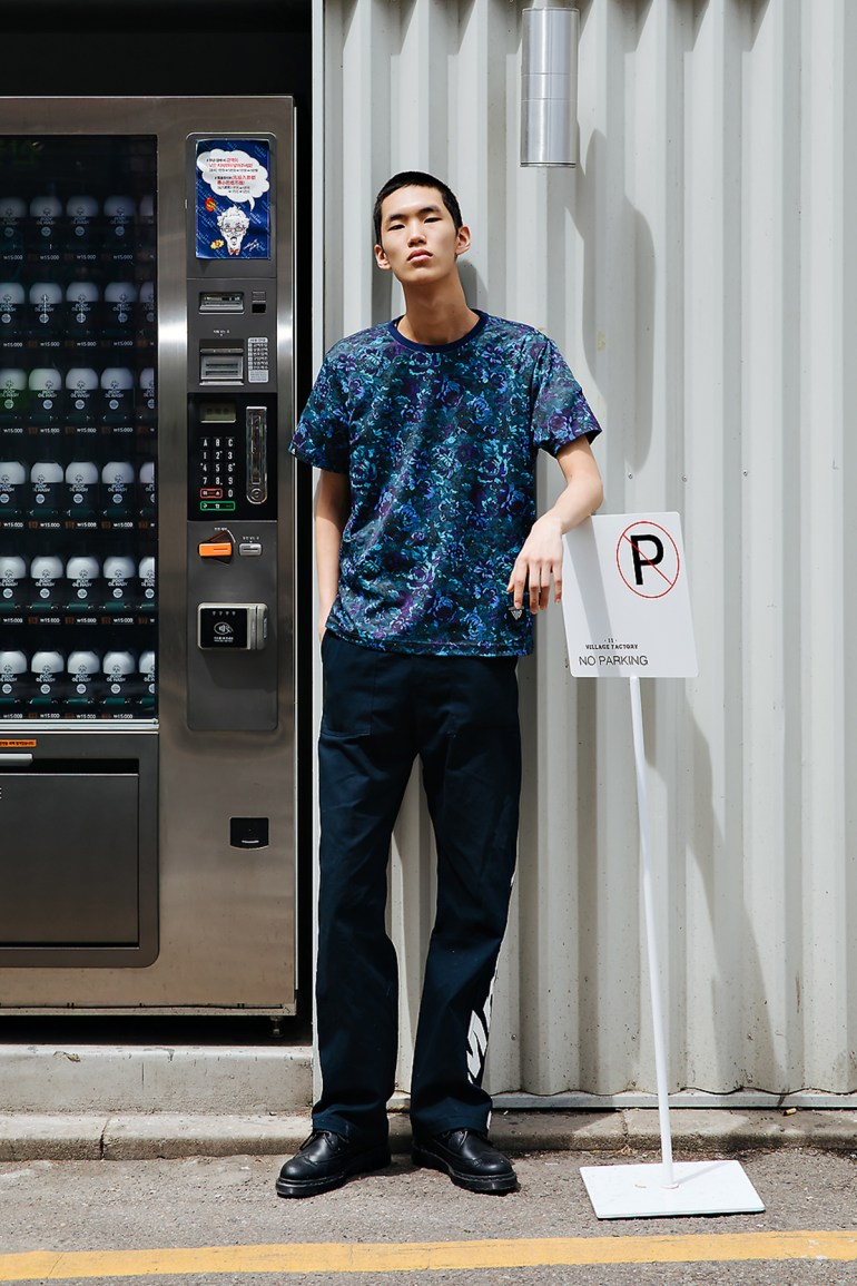 Kwak Bumjin, Street style men spring 2018 inseoul