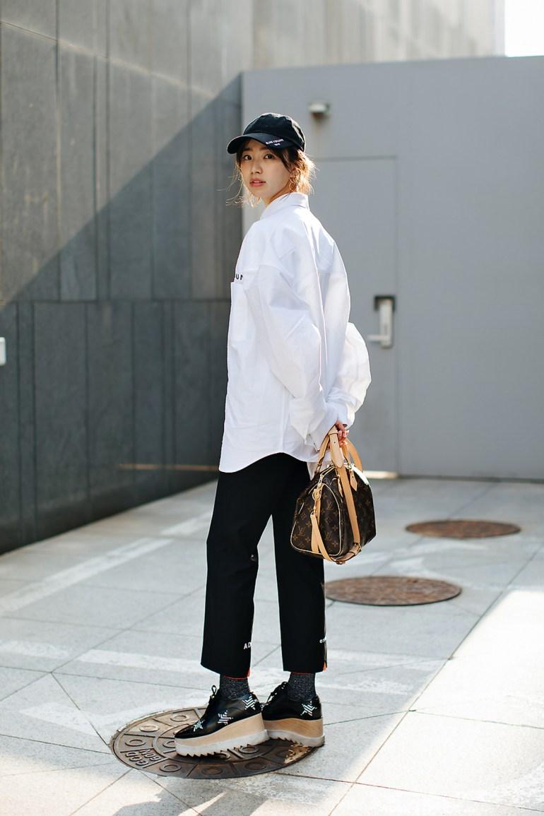 Lee ami, Street style women spring 2018 in seoul