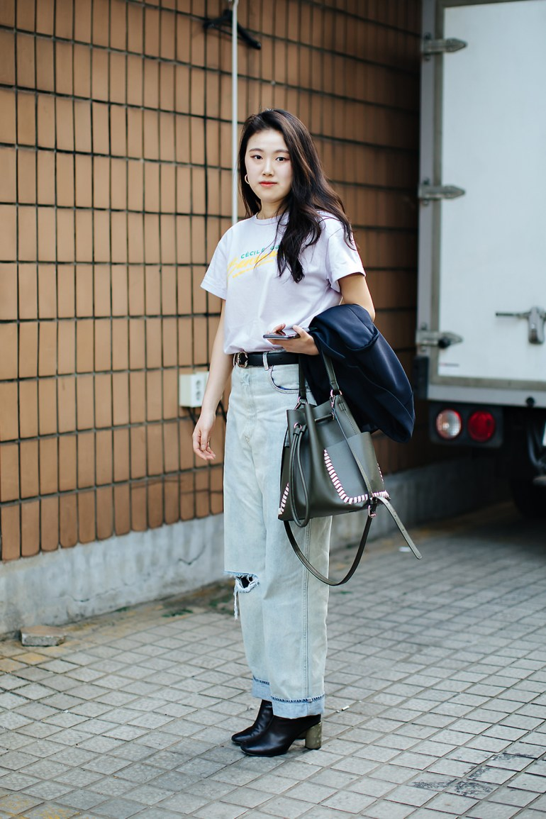 Park Jinsoo, Street style women spring 2018 in seoul
