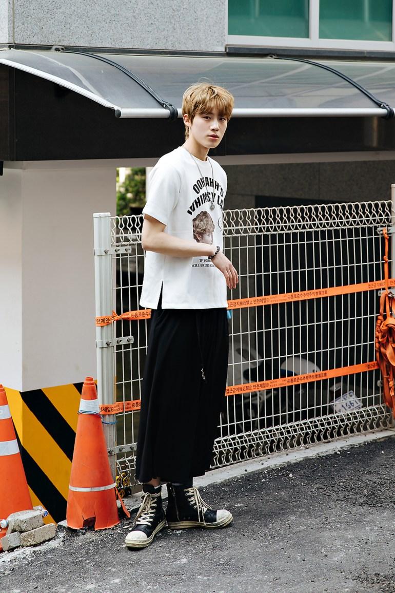 Yoon Hyunjo, Street style men spring 2018 inseoul