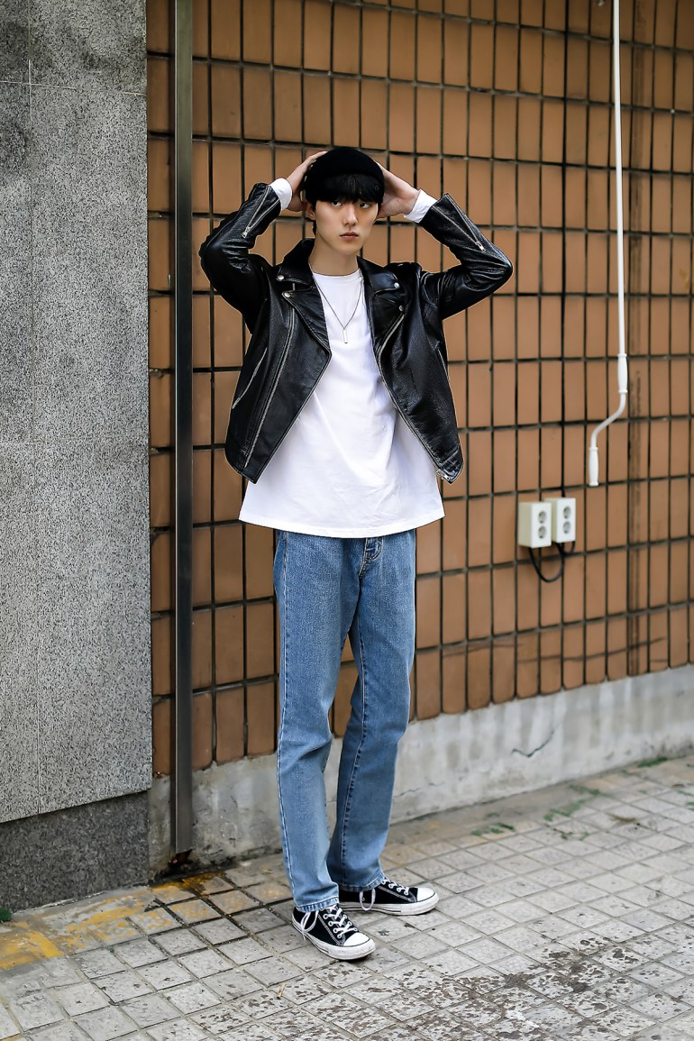 Men fall street style fourth week of october 2018 in seoul13
