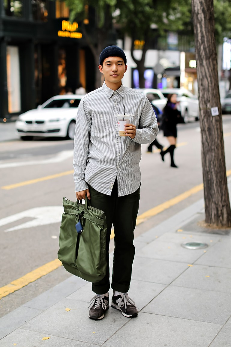 Men fall street style fourth week of october 2018 in seoul15