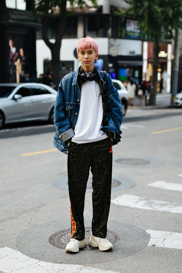 Men fall street style fourth week of october 2018 in seoul4