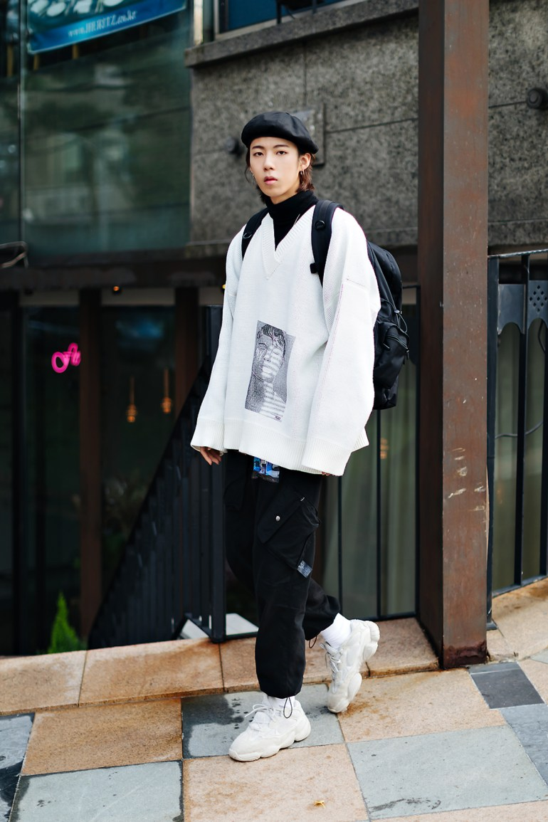 Men fall street style fourth week of october 2018 in seoul7