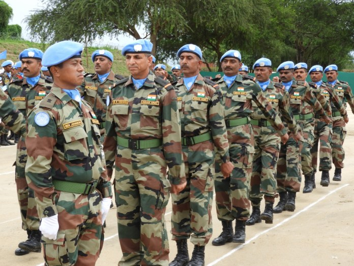 Indian Army - UN Peacekeepers