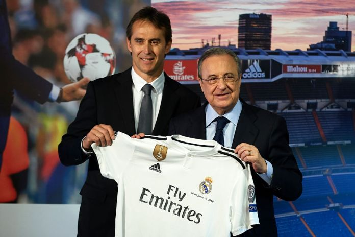 Julen Lopetegui Announced As New Real Madrid Manager