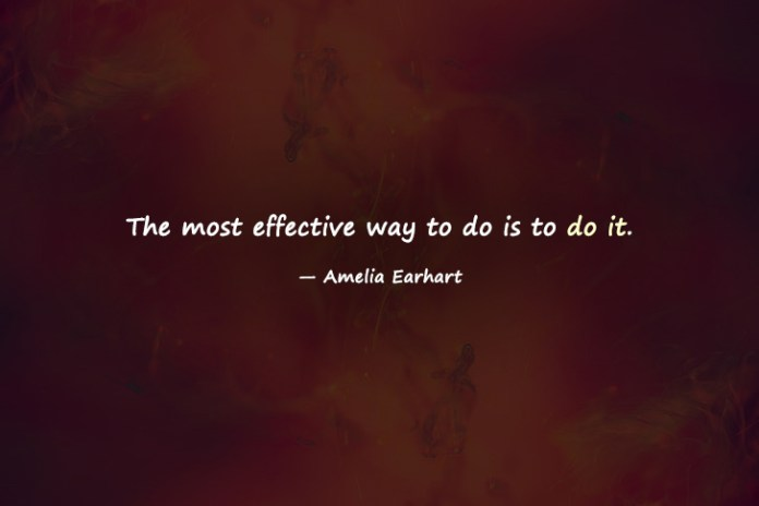 Monday Motivation quotes by Amelia earhart