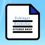 Offener Brief an Bürgermeister Sebastian Thaler