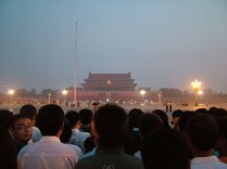 Ceremonia Flagi na Placu Tiananmen
