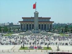 Mauzoleum Mao Zedong - widok z zewnątrz