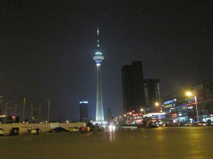Wieża na jeziorze Tianta
