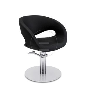 Scaun coafor / styling chair ALPEDA LEON BLACK