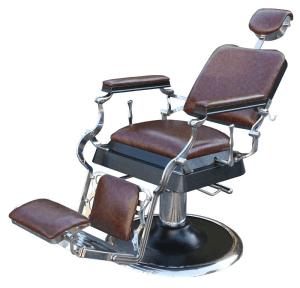Scaun frizerie / barber chair Antique retro maro