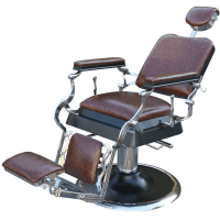 Scaun frizerie / barber chair Antique retro maro