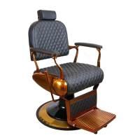 Scaun frizerie / barber chair ALPEDA LEO COPPER BA