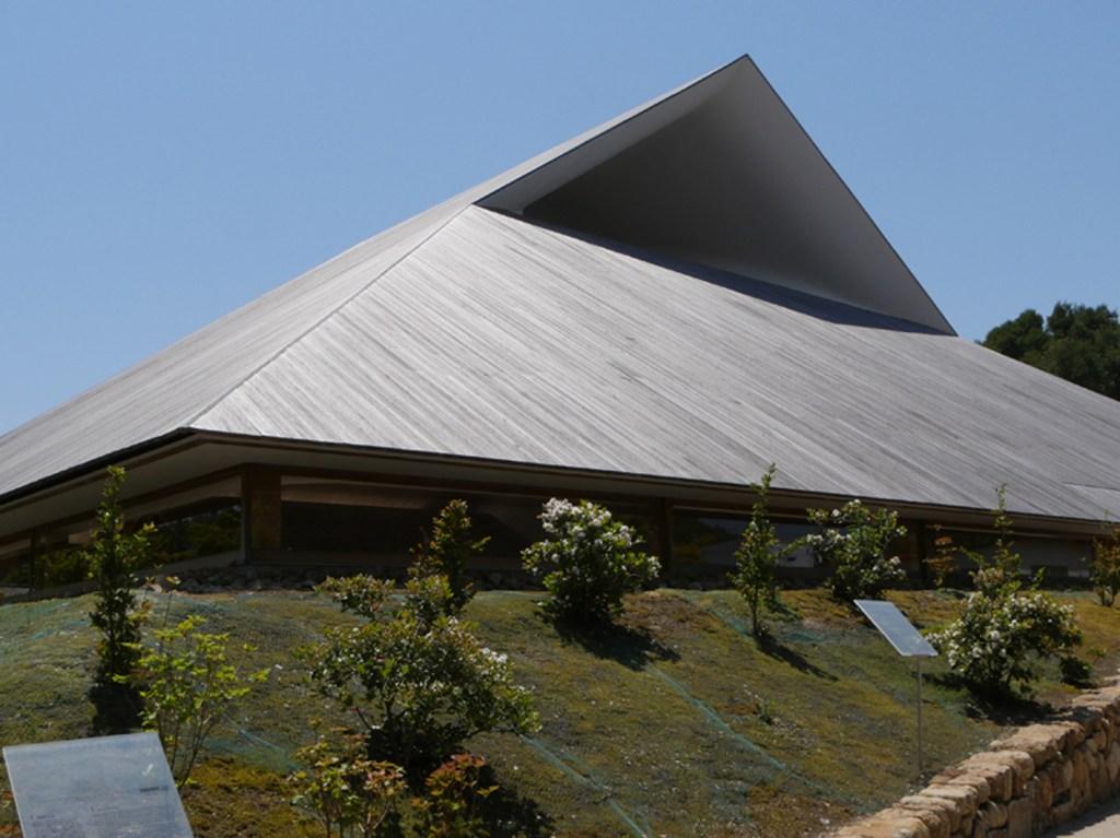 直島ホール屋根