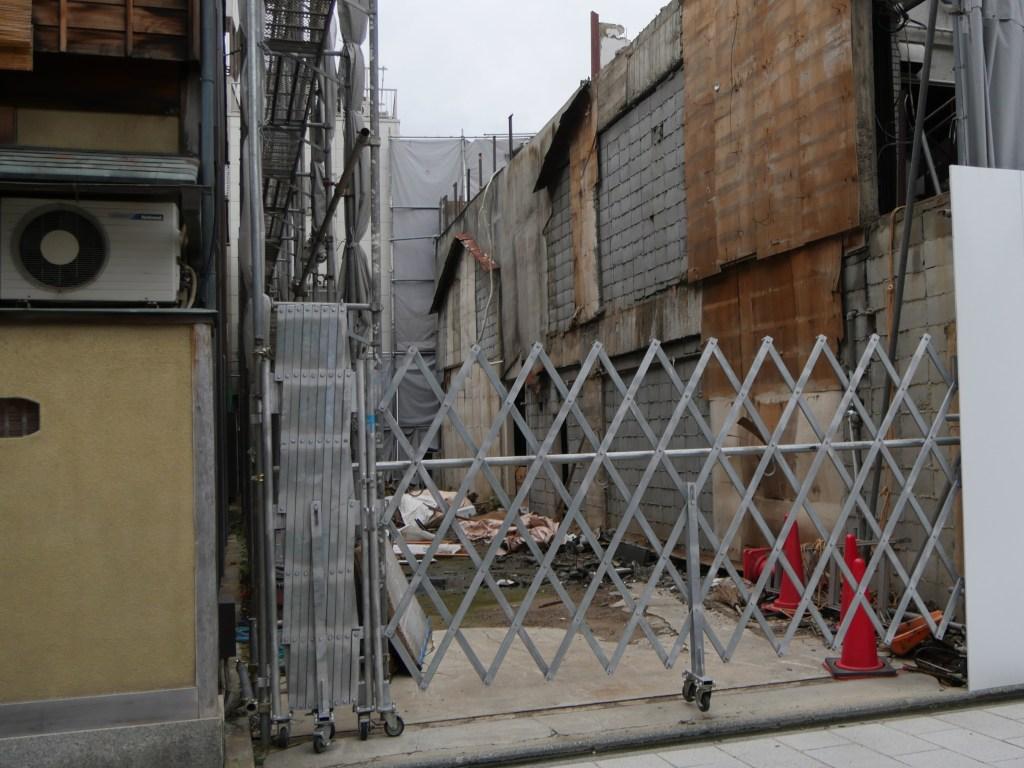 宮川町通りの敷地