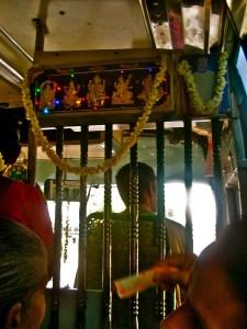 Hindu bus driver