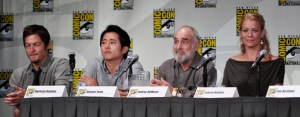 A few of The Walking Dead cast members at Comic Con. Used under Creative Commons License